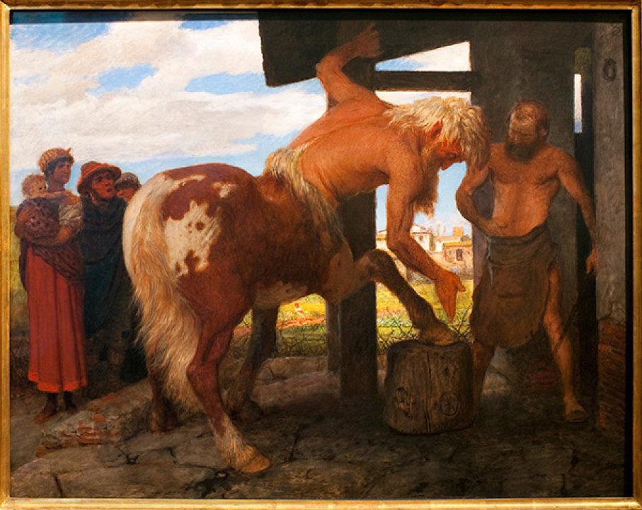 Centaur-Sentor (İnsan Başlı At)