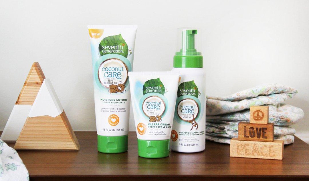 Seventh Generation Doğal Hindistan Cevizi Özlü Bebek Saç ve Vücut Şampuanı