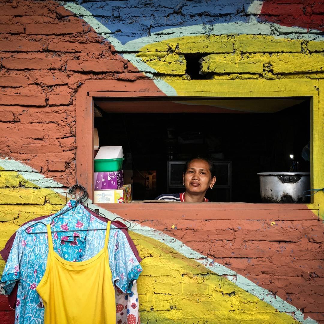 Endonezya-Güney Semarang-Kampung Pelangi