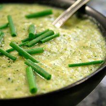 Kekikli,Bezelyeli Brokoli Çorbası