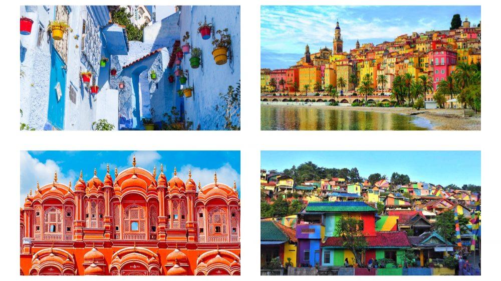 Dünyanın En Renkli 8 Şehri-Rengarenk Şehirler